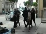New Surveillance Footage Shows Moments Before LAPD Shooting