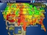 National Forecast For Monday, June 1