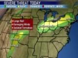 National Forecast For Friday, June 12