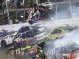NASCAR Race Ends With Scary Crash