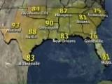 National Forecast For Sunday, July 26