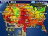 National Forecast For Thursday, August 27