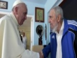 New Picture Of Pope Francis And Fidel Castro Meeting