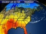 National Forecast For Thursday, October 15