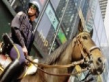 NYPD Horses Play Vital Role When Protecting The Public