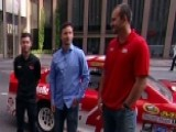 NASCAR Drivers Pay Tribute To Military Service Members