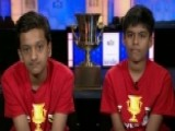 National Spelling Bee Crowns Co-champions
