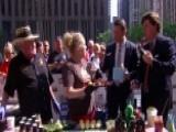 New York City Holds Big Apple BBQ Block Party