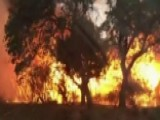 New Wildfire Rips Through Central California
