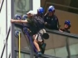NYPD Capture Man Climbing Trump Tower