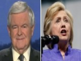 Newt Gingrich Weighs In On Concerns Over Hillary's Health