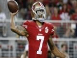 NFL Quarterback Refuses To Stand During National Anthem