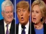 Newt's Take: Novice Trump's Debate Prep Vs. Insider Clinton