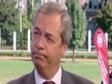 Nigel Farage Calls Trump Comments 'alpha Male Boasting'