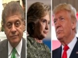 Napolitano: Trump's Taxes, Hillary's Emails Fair Game