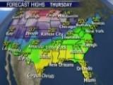 National Forecast For Thursday, January 12