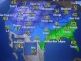 National Forecast For Wednesday, January 18