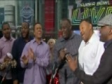 NFL Players Choir Performs 'Lovely Day'