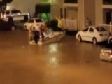 Nearly 60 People Evacuated After Flooding In Mississippi