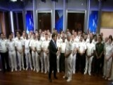 Naval Staff College Graduating Class Visits 'Fox & Friends'