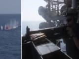 Navy Sailors Use 'killer Tomato' For Target Practice