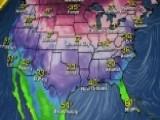 National Forecast For Monday, December 25