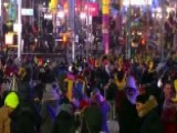 New Year's In Times Square Goes Off Without A Hitch