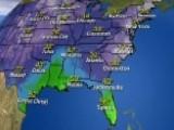 National Forecast For Monday, January 8