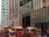 NYFD: 3-alarm Fire At Trump Tower