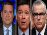 Nunes Talks McCabe IG Report, Efforts To Get Comey Memos