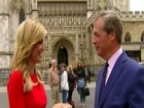 Nigel Farage Gives Ainsley A Tour Of London
