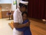 Navy Mom Surprises Daughter After 7-month Deployment