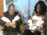 New Mom Expecting Triplets Surprised To Deliver Quadruplets