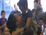Navy Mom Surprises Daughter At School In Emotional Reunion