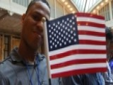 New US Citizens Take The Oath Of Citizenship