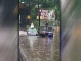 New Jersey Police Rescue Bride From Rising Flood Waters