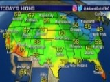 National Forecast For Sunday, October 21