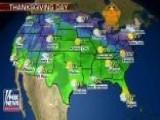 National Forecast For Thursday, November 22