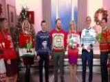 National Ugly Christmas Sweater Day Celebrated On 'Fox & Friends' With The Year's Most Trendy Tacky Holiday Looks