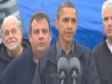 Obama, Gov. Christie Comment On Hurricane Sandy