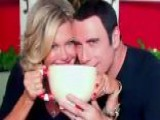Olivia Newton-John, John Travolta Reunite For Christmas