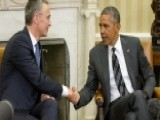Obama Meets NATO Chief Amid Growing Tensions In Iraq