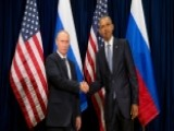 Obama, Putin Shake Hands Ahead Of Meeting