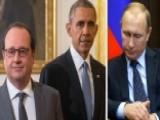 Obama, Hollande Urge Putin To Change Strategy Inside Syria