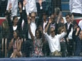 Obama Does The Wave With Castro At Baseball Game In Cuba