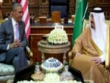Obama Arrives In Saudi Arabia For Talks With King Salman