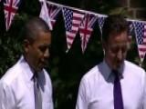 Obama Walks Into Tense UK Politics Amid EU Referendum