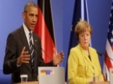 Obama And Merkel Hold News Conference In Germany
