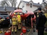 Oregon Man Watches Car Catapult Onto His Boat