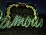 Old Vegas Signs Brought Back To Life Using Projection Art